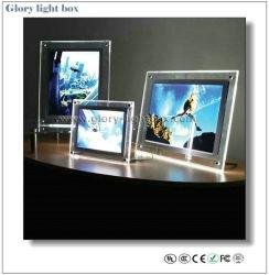 Tabelle Protable LED Ctrystal helle Kästen