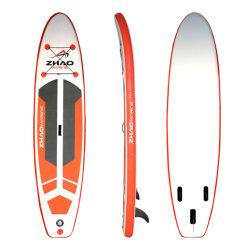 Nieuw ontwerp Low Price Opblaasbaar opstaand bord Surfing Longboard Surfplank sup lang board