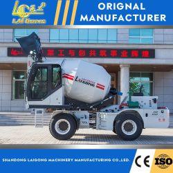 セメントに使用される高効率 3m3 自己充填コンクリートミキサー 混合