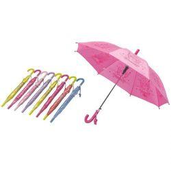 مظلة للأطفال المصنوعة من البوليستر لبوليستر بحجم 19 بوصة لؤلؤي