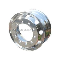 22.5×8.25 عجلات من الألومنيوم المصقول أو حواف أو عجلات من المرآة ذات العجلات المصنوعة من Meika أو الصرات