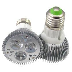 ハイパワー3 * 3W 9W E27ネジPAR20 LED PARライトnull