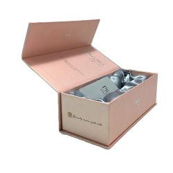 Kundenspezifischer magnetischer faltender kosmetischer Geschenk-Großhandelsluxuxkasten, der für Haut-Sorgfalt verpackt
