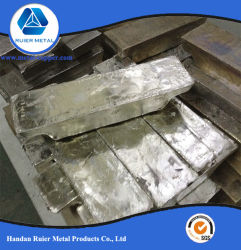 最もよい品質の純粋な99.99%錫のSnのインゴット金属のインゴット中国の錫棒