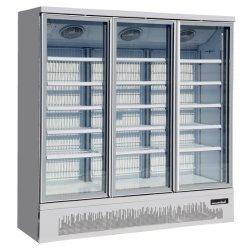 Socool 3-Marchandiseur Commercial de vitre de porte du congélateur porte en verre verticale atteindre dans le congélateur avec R290 le liquide de refroidissement