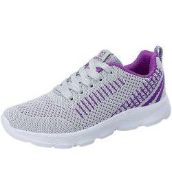 Heißer Verkauf Mode Flyknit Frauen Casual Sport Schuhe Damen Sneaker Laufschuhe (SXW21-JZ730)