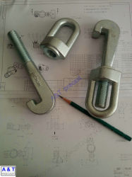 Болт крепления Customizied/специальной формы болт или углеродистой стали и нержавеющей стали/J анкерный болт (класс 8.8)