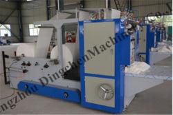 Abschminktuch-faltende Papiermaschine V-Falten