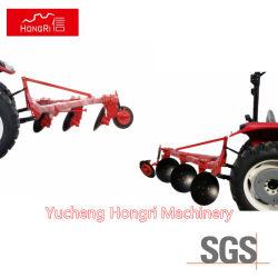 Máquinas agrícolas Professional 4 arado montado com o Trator