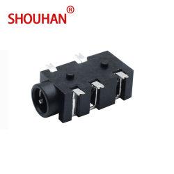 ヘッドホーンのジャック0.5A 30V Pj327f 5 Pin SMD/SMT 3.5mmのイヤホーンのソケットの女性部品
