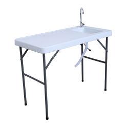 Для использования вне помещений для пикников и рыб и режущие портативный складной стол