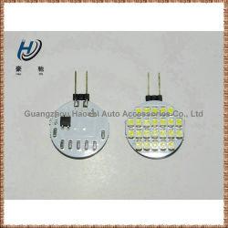 12V DC AC Blanc Orange G4 24 SMD LED 3528 Ampoule de feu du paysage
