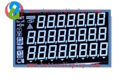 Tn Va Stn Dígitos LCD personalizado 7 visor LCD do segmento