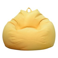 Hyc-Sf07現代Ins様式創造的なファブリック膨脹可能で多彩で不精なソファーの豆袋