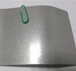 Le lustre revêtements en poudre de couleur en métal argenté
