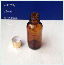 30ml Huile Essentielle de bouteilles en verre avec bouchons à vis