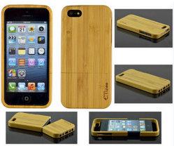 El nuevo teléfono celular de bambú encajona el iPhone 6s