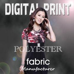 Цифровая печать ткань Полиэстер