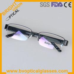 남자 2012의 고품질 절반 변죽 금속 이탈리아 대륙간 탄도탄 안경알 구조 (M339)를 가진 가장 새로운 유행 디자인