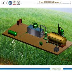 15ton fábrica de pirólise de Reciclagem de Pneus Usados para que o óleo dos pneus