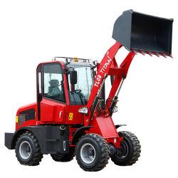 Zl08 0.8トンの庭の販売のための新しい庭のトラクターのMachinel Radladerの前部小型車輪のローダー