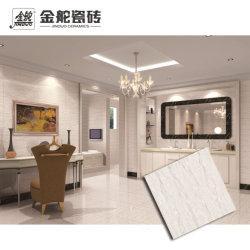 600X600mmの光沢度の高い灰色の大理石の磨かれた磁器の壁および床タイル