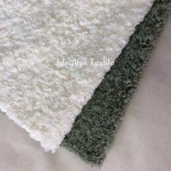 Pilha curta Curly imitações de cordeiros lã/Faux de peles de ovinos