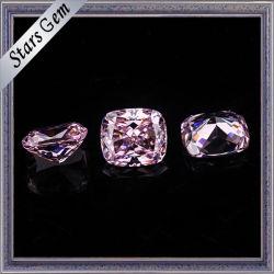 Het moderne Zirkoon van de Besnoeiing van het Kussen voor het Maken van Juwelen