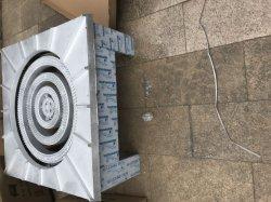 Comercial de gas cocina de gas estufa de gas Estufa de fundición de acero con