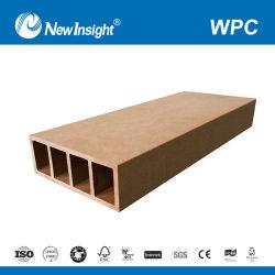 3m*3m WPC Madeira composto de plástico Pergola