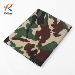 T/C 65% 폴리에스테 35% 면 육군 인쇄 위장 군복 직물