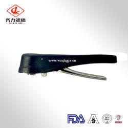 Plastique / 3A standard en acier inoxydable Vannes papillon Poignée multi-positions de la poignée