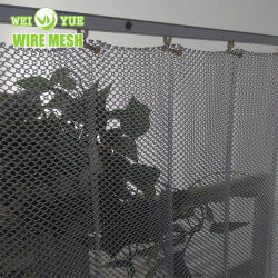 Home decorazione tela metallica/rete metallica Tenda