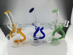 Großhandelsglaswasser-Rohr-Kunst-rauchendes Set-Rauch-Rohr KLEKS Glasanlagen