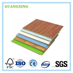 WPC простая установка настенной панели внутренней стенки древесины зерна коммерческих огнеупорные декоративные 3D настенные панели водонепроницаемый ПВХ потолочные плитки