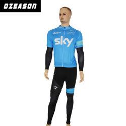 Cheap respirable en vrac imprimés personnalisés Hommes Chemises à manches longues pour le cyclisme
