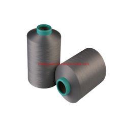 Het gerecycleerde Garen van de Gloeidraad van het Huisdier/het middel-Geverfte Garen van de Polyester DTY voor het Breien en het Weven