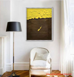 Original artesanais Abstract pintura a óleo com textura pesada