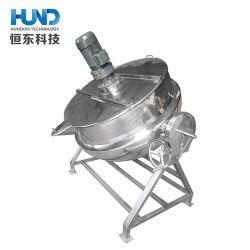 Le basculement de la pression de vapeur de l'industrie d'une cuisinière en acier inoxydable pour l'os de la viande Soupe de haricots