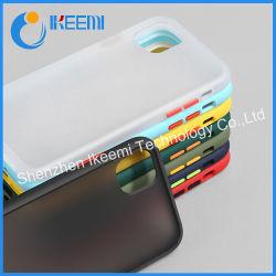 Anti-Knock Armor Matte Téléphone cellulaire Étui pour iPhone Housse Etui silicone résistant aux chocs pour Samsung