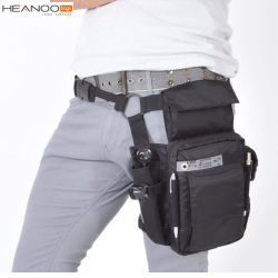 권총휴대 주머니 Smartphones 지갑 여권을%s 전술상 허리 다리 부대를 전송하십시오