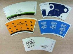 Comida de alta calidad resistente a la grasa de la Copa de grado el papel de las materias primas, rollo de papel recubierto de PE