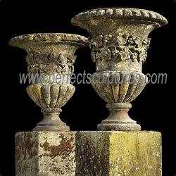 Для использования вне помещений декоративной старинными каменными кадки для сада (QFP409)