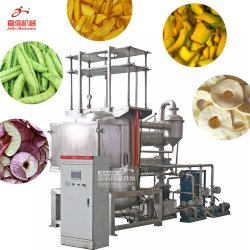 Frutas Vegetais Chips nítido fritadeira Vácuo Máquina de fritura máquinas