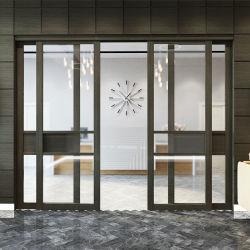 Doble acristalamiento de elevación de aluminio y Puerta corrediza con pantalla