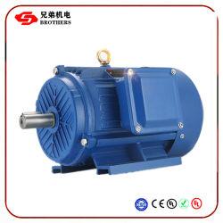 Motore elettrico elettrico del motore IP55 50Hz 60Hz 380V/460V di serie Yb2 iarda Yej Yvp Y di Ie1 Ie2 Y2 di alto potere approvato del NEMA del CE (0.18KW-400KW)