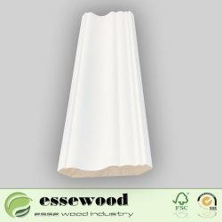 Moldura Decorativa de color blanco de madera con aparejo de moldeo de muebles de madera // Architraves moldura rodapié Moldura/corona el moldeo de techo