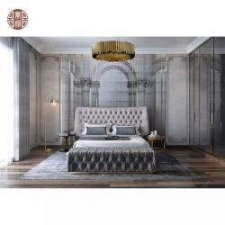 Dernière conception de style européen moderne chambre à coucher Mobilier de salle de séjour fixé pour l'hôtel appartement