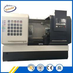 편평한 침대 CNC 선반 Ck6166 모형