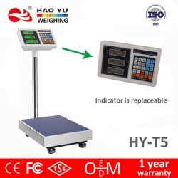 Escala de plataforma barata chinês Modelo T5 150kg com 40*50cm